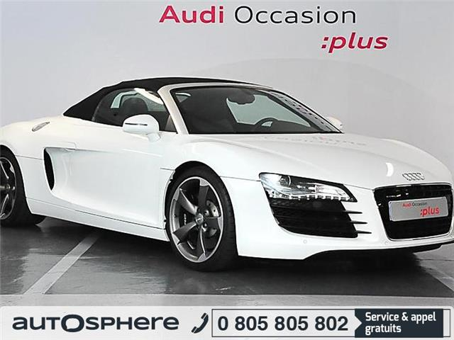 audi r8 spyder 4 2 v8 fsi r tronic occasion paris. Black Bedroom Furniture Sets. Home Design Ideas