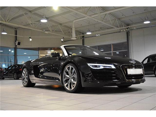audi r8 spyder v8 4 2 fsi 430 quattro occasion nice. Black Bedroom Furniture Sets. Home Design Ideas