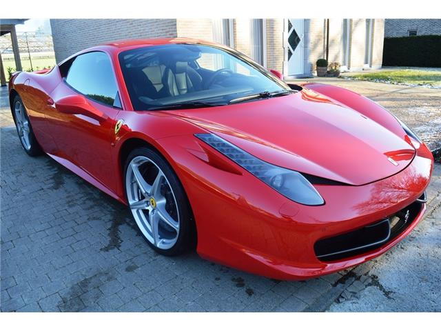 ferrari 458 italia 4 5 v8 570ch 21800 km 1er main occasion lille. Black Bedroom Furniture Sets. Home Design Ideas