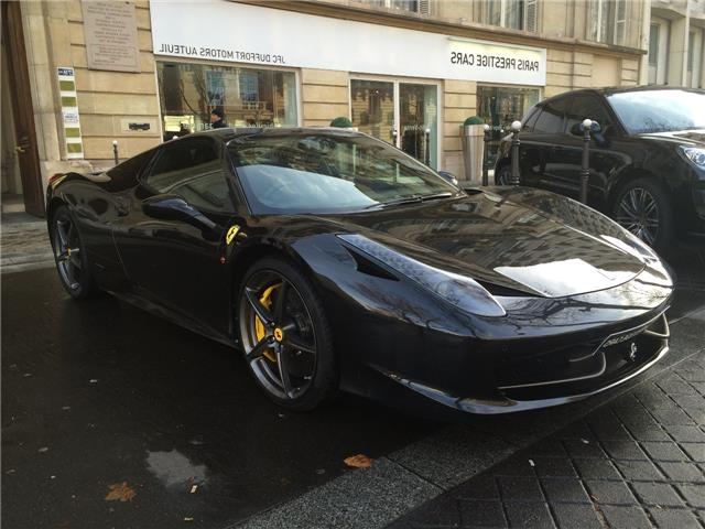 ferrari 458 spider occasion paris. Black Bedroom Furniture Sets. Home Design Ideas