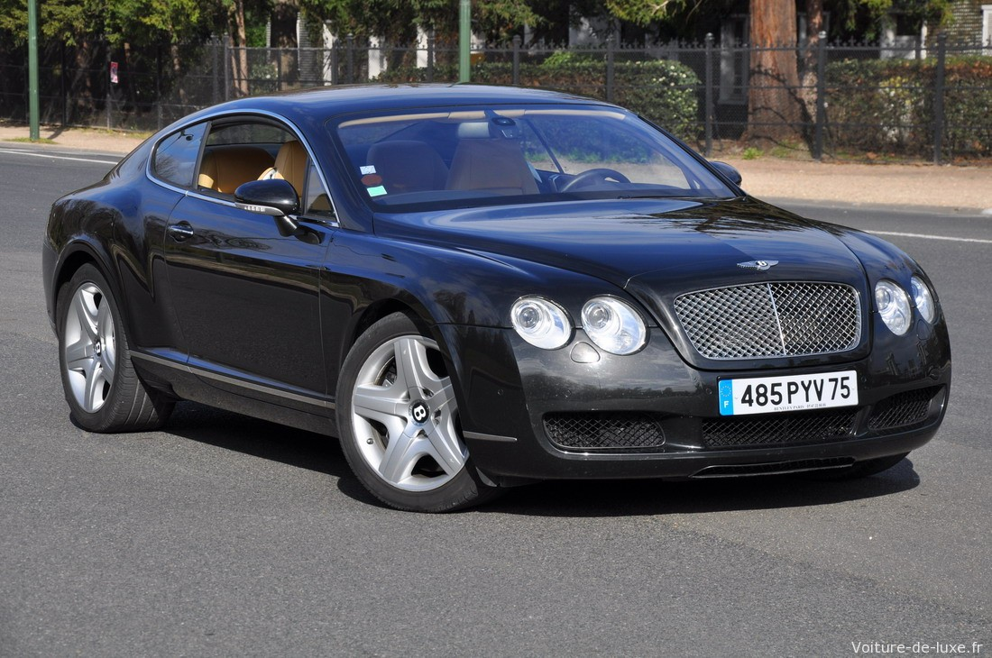 bentley continental gt coup occasion paris 75. Black Bedroom Furniture Sets. Home Design Ideas
