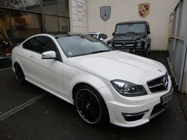 mercedes classe c 63 amg coup occasion paris 75. Black Bedroom Furniture Sets. Home Design Ideas