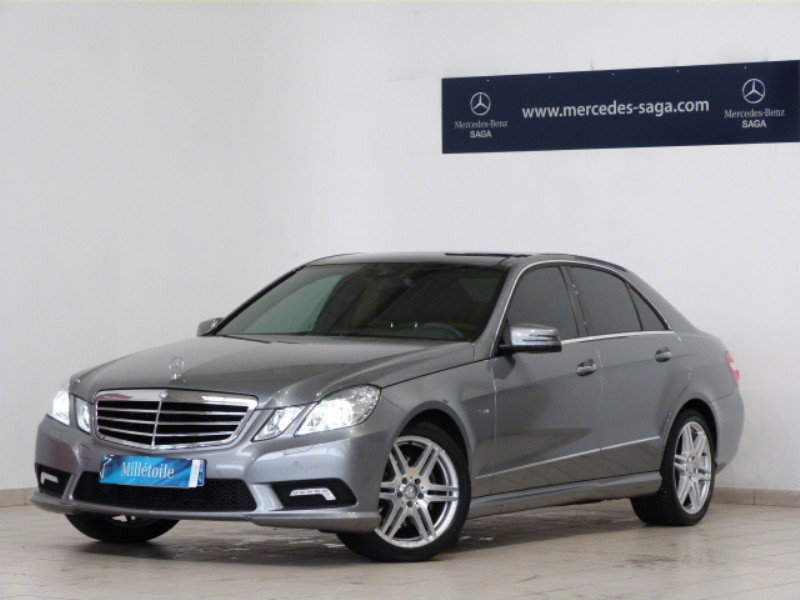 mercedes classe e 220 cdi avantgarde ex cut ba amg 2011 occasion vendee 85. Black Bedroom Furniture Sets. Home Design Ideas