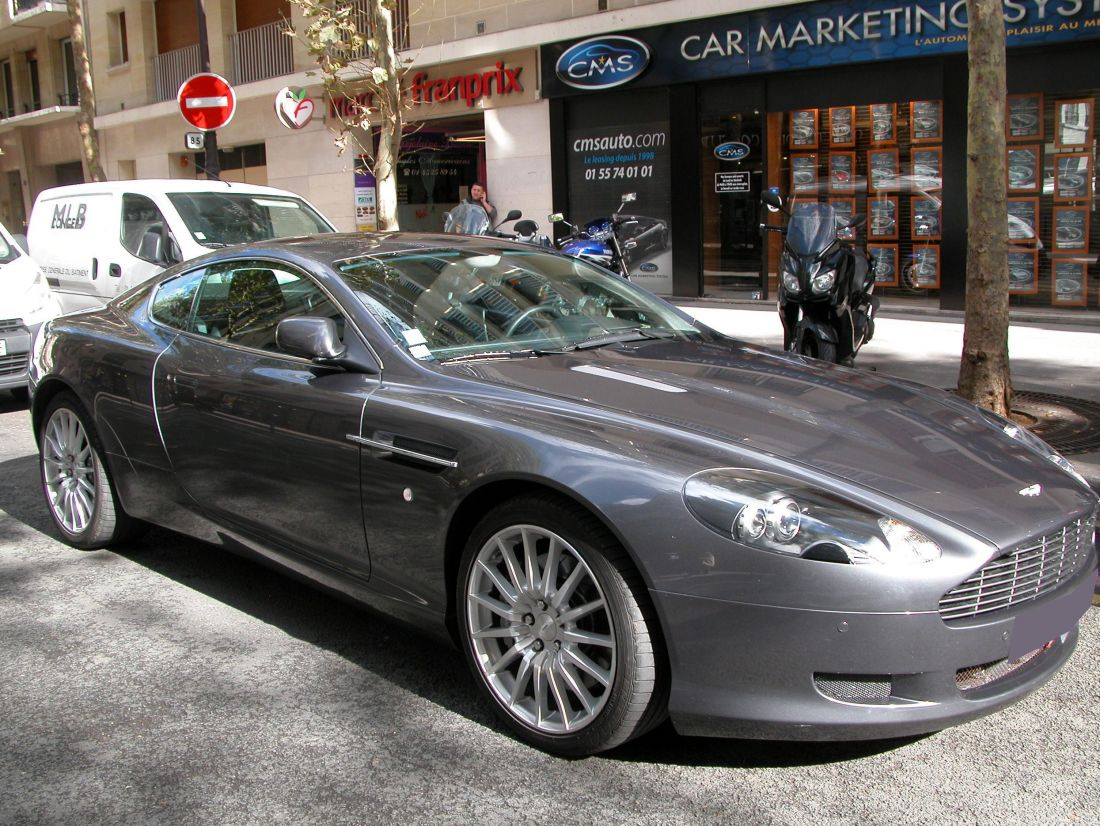 aston martin db9 coupe 5 9 v12 touchtronic 2007 occasion paris 75. Black Bedroom Furniture Sets. Home Design Ideas