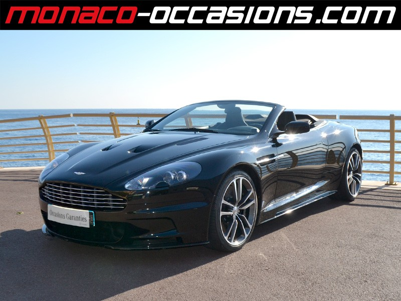 aston martin dbs volante v12 5 9 touchtronic2 2010 occasion monaco 98. Black Bedroom Furniture Sets. Home Design Ideas