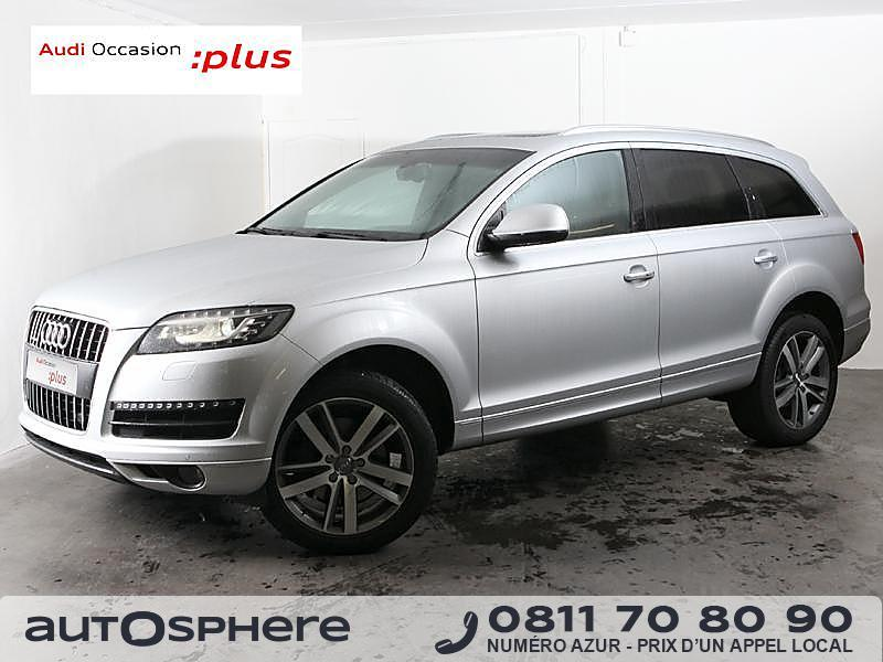 audi q7 3 0 tdi 245ch fap avus tiptronic 7pl 2013 occasion ile et villaine 35. Black Bedroom Furniture Sets. Home Design Ideas