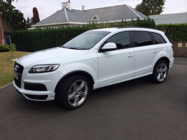 Audi q7 3l tdi s line 7 places occasion nord 59 for Garage vente voiture occasion blanc mesnil