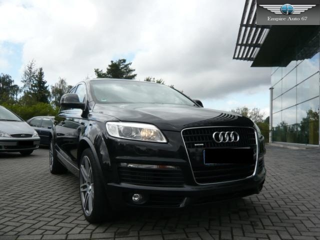 audi q7 4 2 tdi s line 7 places camera panoramiq 2008 occasion bas rhin 67. Black Bedroom Furniture Sets. Home Design Ideas