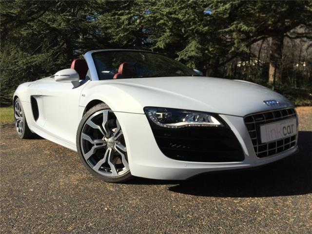 audi r8 spyder 5 2 v10 fsi r tronic occasion meylan. Black Bedroom Furniture Sets. Home Design Ideas