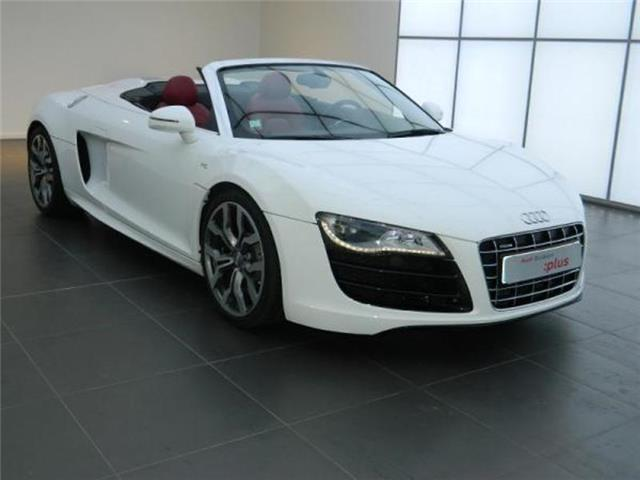 audi r8 spyder 5 2 v10 fsi r tronic occasion paris. Black Bedroom Furniture Sets. Home Design Ideas