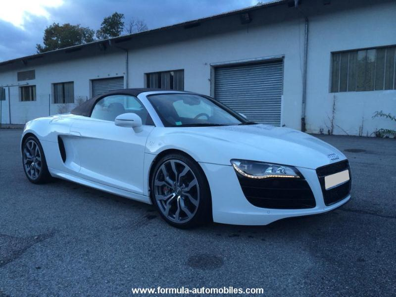 audi r8 spyder 5 2 v10 fsi r tronic 2010 occasion bas rhin 67. Black Bedroom Furniture Sets. Home Design Ideas