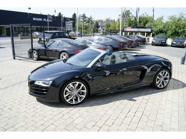 audi r8 spyder v10 quattro fsi r tronic aut 2010 occasion belgique blg. Black Bedroom Furniture Sets. Home Design Ideas