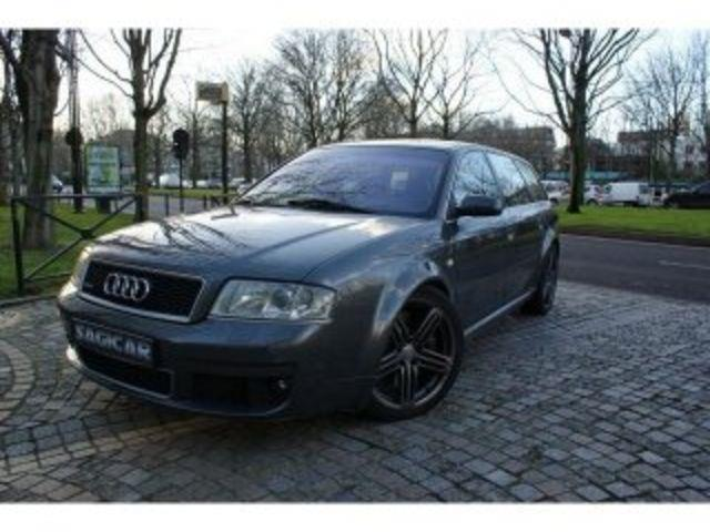 audi rs6 avant 4 2 biturbo 450 bva occasion paris. Black Bedroom Furniture Sets. Home Design Ideas
