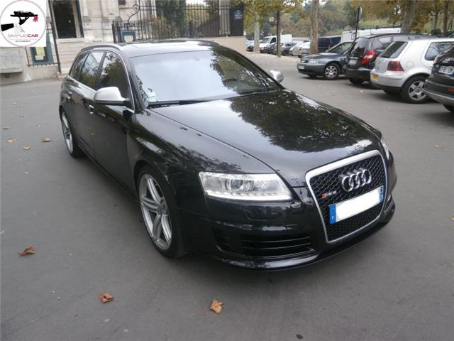 audi rs6 ii avant 5 0 v10 fsi 580 full options occasion paris. Black Bedroom Furniture Sets. Home Design Ideas