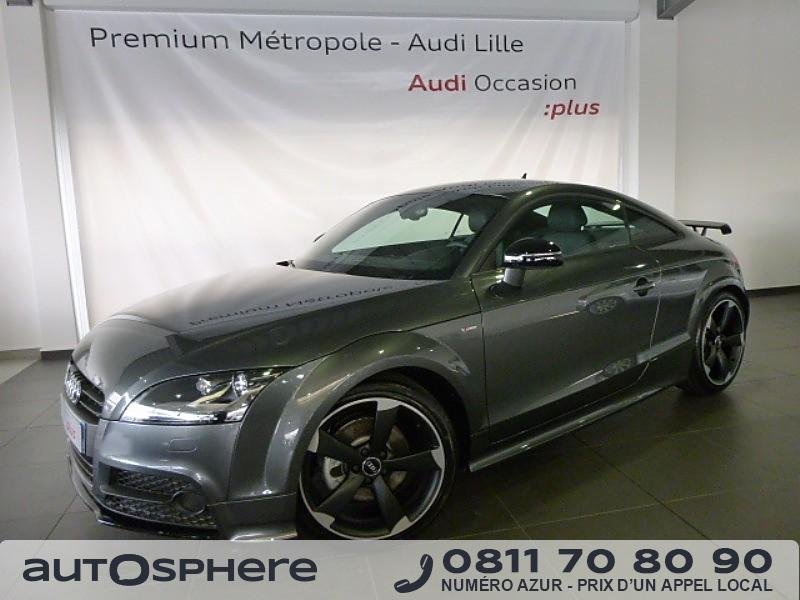 audi tt 1 8 tfsi 160ch s line 2014 occasion nord 59. Black Bedroom Furniture Sets. Home Design Ideas