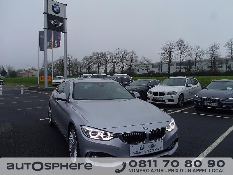 bmw serie 4 428ia xdrive 245ch luxury 2014 occasion vendee. Black Bedroom Furniture Sets. Home Design Ideas