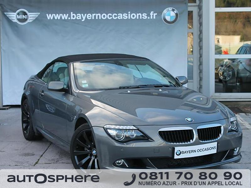 bmw serie 6 635d luxe 2008 occasion bouches du rhone 13. Black Bedroom Furniture Sets. Home Design Ideas
