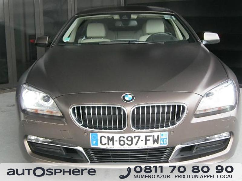 bmw serie 6 640da 313ch luxe 2012 occasion pyrenees atlantiques 64. Black Bedroom Furniture Sets. Home Design Ideas