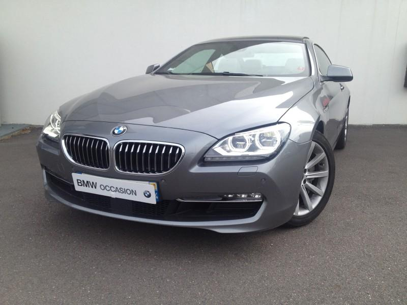 Bmw serie 6 coupe 640da 313ch exclusive 2011 occasion for Voiture occasion meurthe et moselle garage