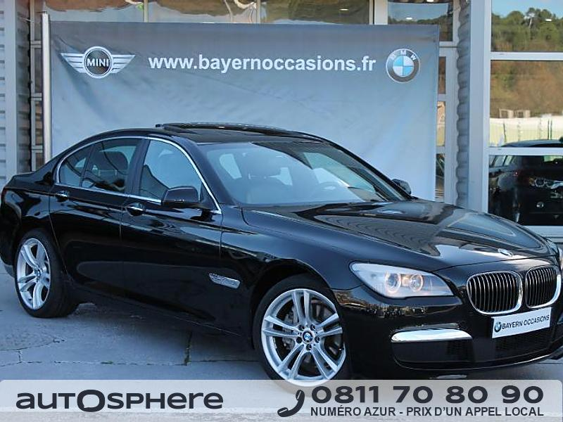 bmw serie 7 740da 313ch exclusive 2012 occasion bouches du rhone 13. Black Bedroom Furniture Sets. Home Design Ideas