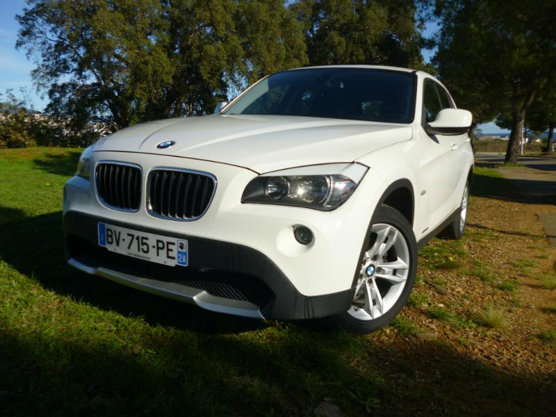 bmw x1 sdrive18d confort 2011 occasion corse 20. Black Bedroom Furniture Sets. Home Design Ideas