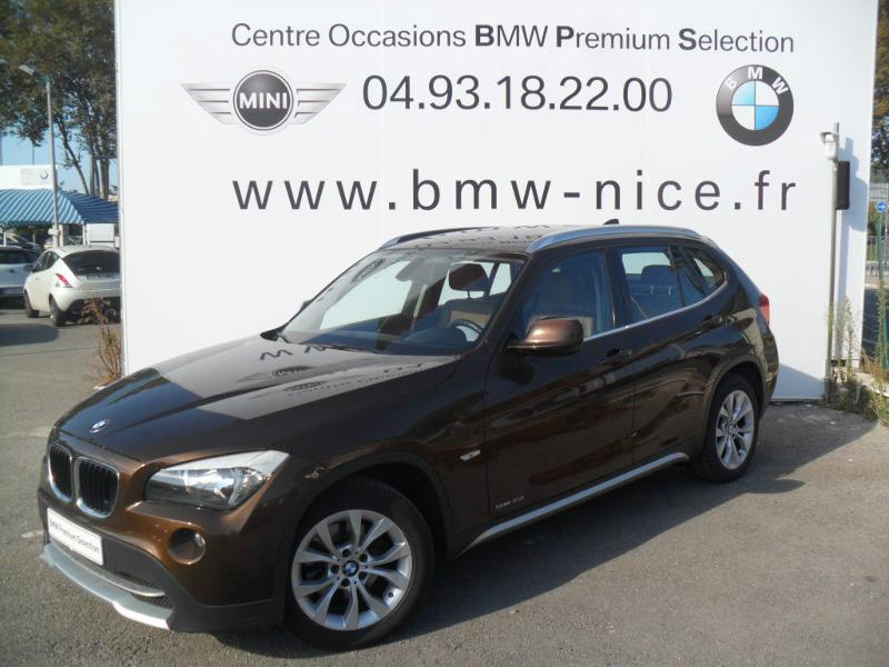 bmw x1 sdrive18d luxe 2011 occasion alpes maritimes 06. Black Bedroom Furniture Sets. Home Design Ideas