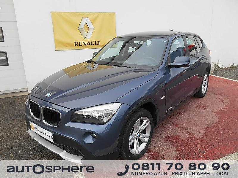 bmw x1 sdrive20d confort 2011 occasion savoie 73. Black Bedroom Furniture Sets. Home Design Ideas