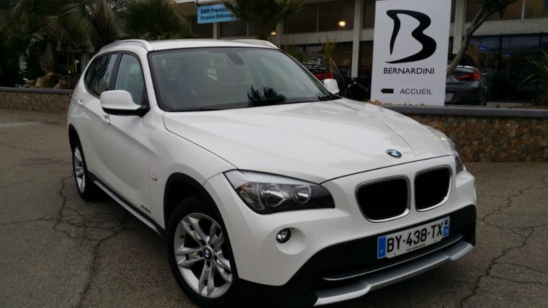 bmw x1 xdrive18d confort 2011 occasion corse 20. Black Bedroom Furniture Sets. Home Design Ideas