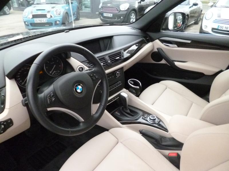 bmw x1 xdrive18da luxe 2011 occasion doubs 25. Black Bedroom Furniture Sets. Home Design Ideas