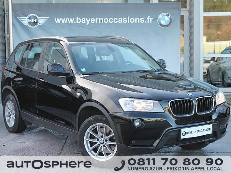 bmw x3 xdrive20d 184ch confort 2011 occasion bouches du rhone 13. Black Bedroom Furniture Sets. Home Design Ideas