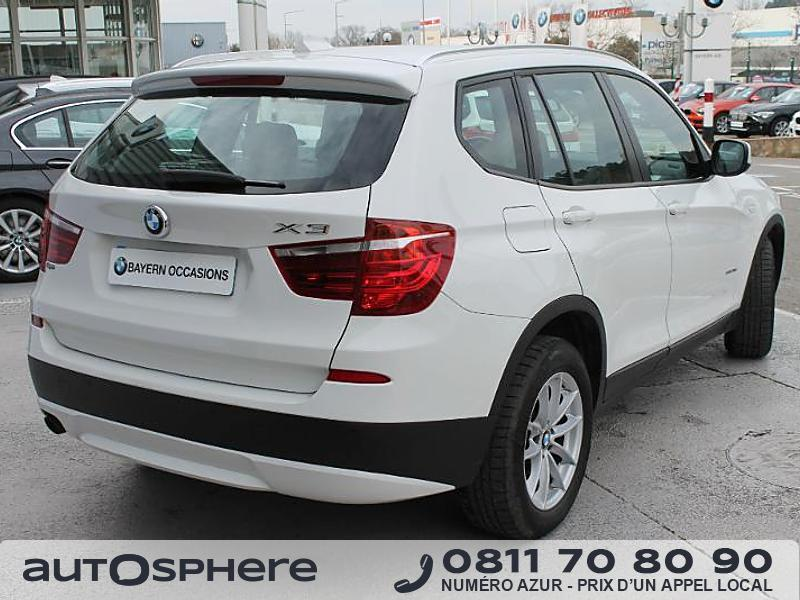 bmw x3 xdrive20da 184ch confort 2011 occasion bouches du rhone 13. Black Bedroom Furniture Sets. Home Design Ideas