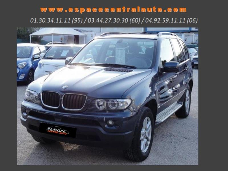bmw x5 e53 3 0da pack luxe 2005 occasion val d oise 95. Black Bedroom Furniture Sets. Home Design Ideas