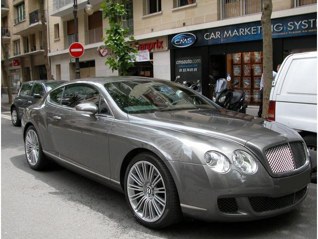 bentley continental gt speed 6 0 w12 bi turbo 610 2008 occasion paris 75. Black Bedroom Furniture Sets. Home Design Ideas