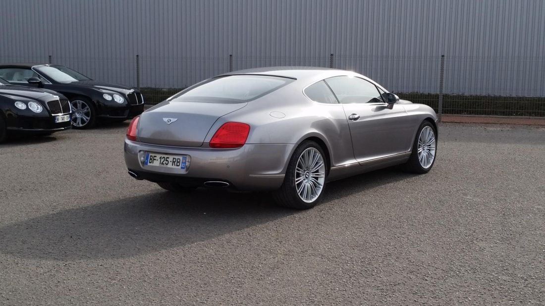 bentley continental gt speed w12 6 0 occasion loire 42. Black Bedroom Furniture Sets. Home Design Ideas