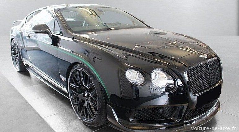 bentley continental gt gt3 r 580 ch limited edition occasion loire 42. Black Bedroom Furniture Sets. Home Design Ideas