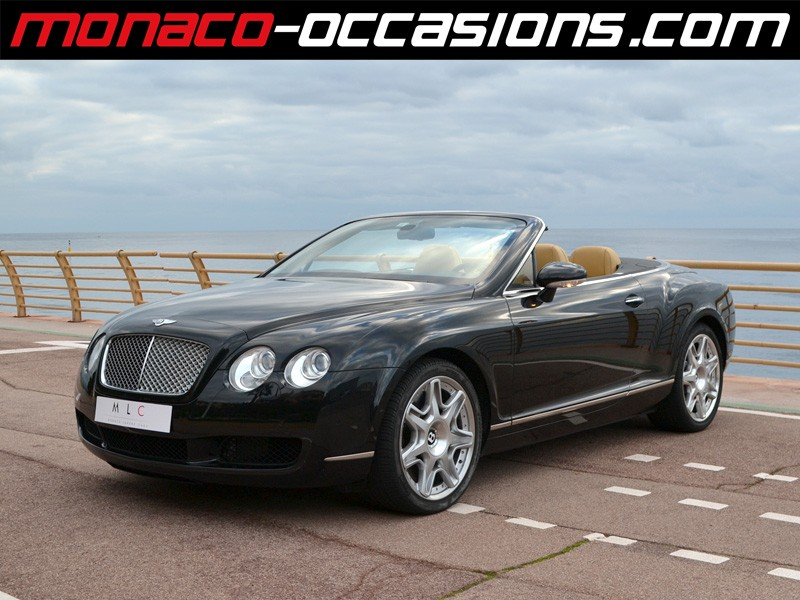 bentley continental gtc 6 0 2009 occasion monaco 98. Black Bedroom Furniture Sets. Home Design Ideas