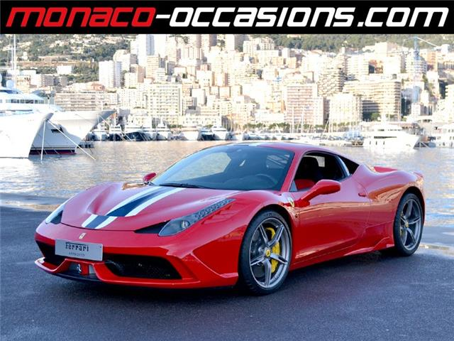 ferrari 458 speciale occasion monaco. Black Bedroom Furniture Sets. Home Design Ideas