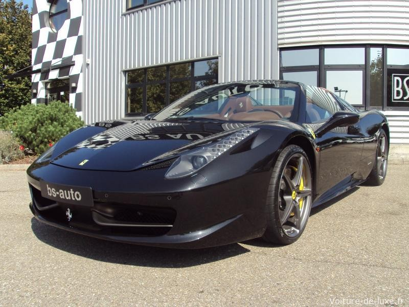 ferrari 458 spider v8 4 5 570ch 2012 occasion bas rhin 67. Black Bedroom Furniture Sets. Home Design Ideas