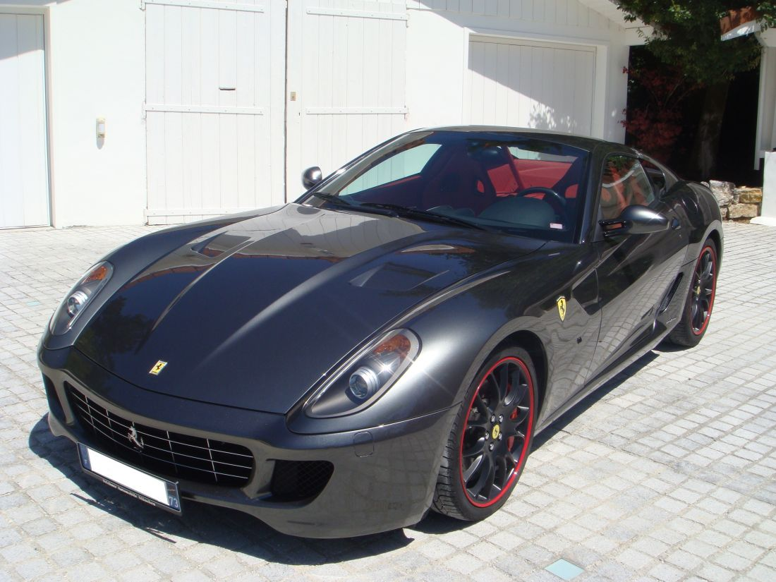 ferrari 599 gtb novitec f1 2009 occasion savoie 73. Black Bedroom Furniture Sets. Home Design Ideas
