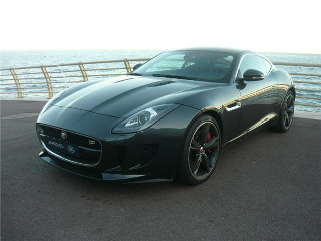 jaguar f type coupe 3 0 v6 380ch s bva8 occasion monaco. Black Bedroom Furniture Sets. Home Design Ideas
