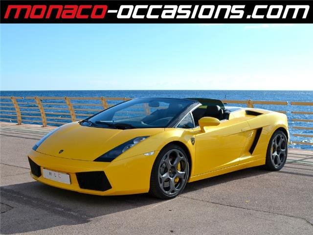 lamborghini gallardo spyder v10 5 0 520ch occasion monaco. Black Bedroom Furniture Sets. Home Design Ideas