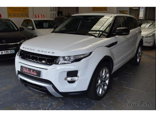 land rover range rover evoque 2 2 sd4 dynamic bva 2013 occasion somme 80. Black Bedroom Furniture Sets. Home Design Ideas
