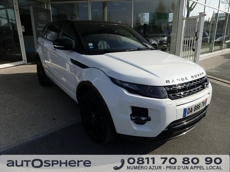 land rover range rover evoque 2 2 sd4 dynamic bva mark i 2013 occasion seine et marne 77. Black Bedroom Furniture Sets. Home Design Ideas