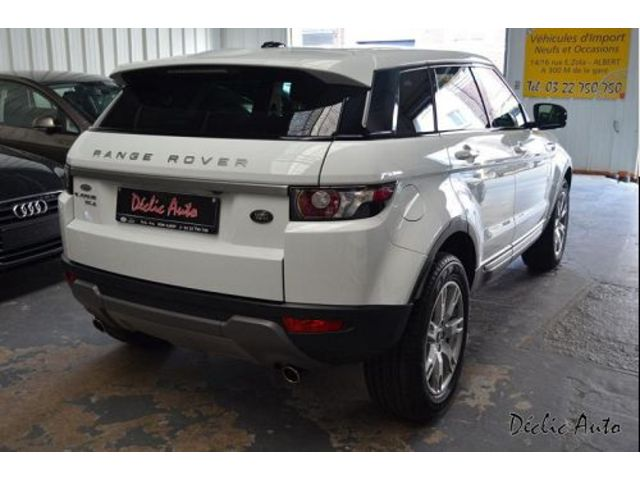 land rover range rover evoque 2 2 sd4 pure 2013 occasion somme 80. Black Bedroom Furniture Sets. Home Design Ideas