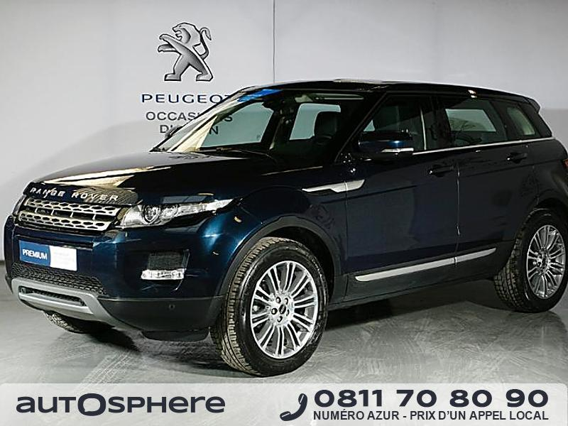 land rover range rover evoque 2 2 td4 prestige 2012 occasion oise 60. Black Bedroom Furniture Sets. Home Design Ideas