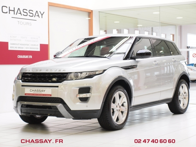 land rover range rover evoque sd4 bva9 dynamic occasion indre et loire 37. Black Bedroom Furniture Sets. Home Design Ideas