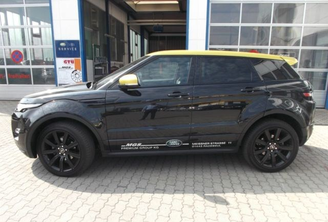 land rover range rover evoque sd4 yellow edition. Black Bedroom Furniture Sets. Home Design Ideas