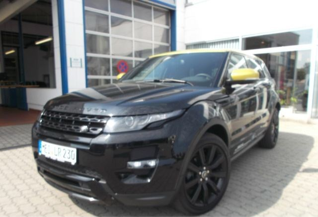 land rover range rover evoque sd4 yellow edition occasion vendee 85. Black Bedroom Furniture Sets. Home Design Ideas