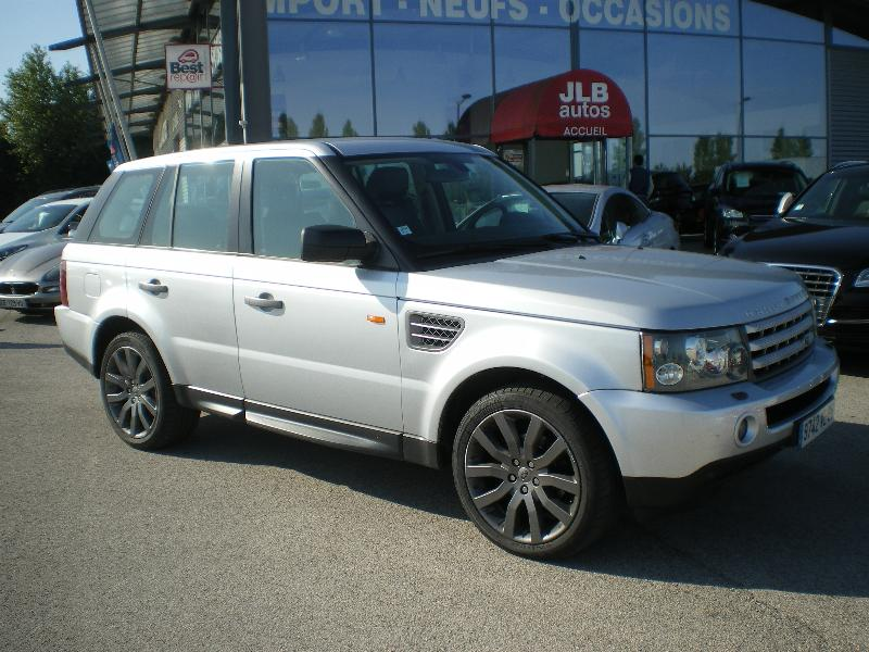land rover range rover sport tdv6 hse 2007 occasion saone et loire 71. Black Bedroom Furniture Sets. Home Design Ideas