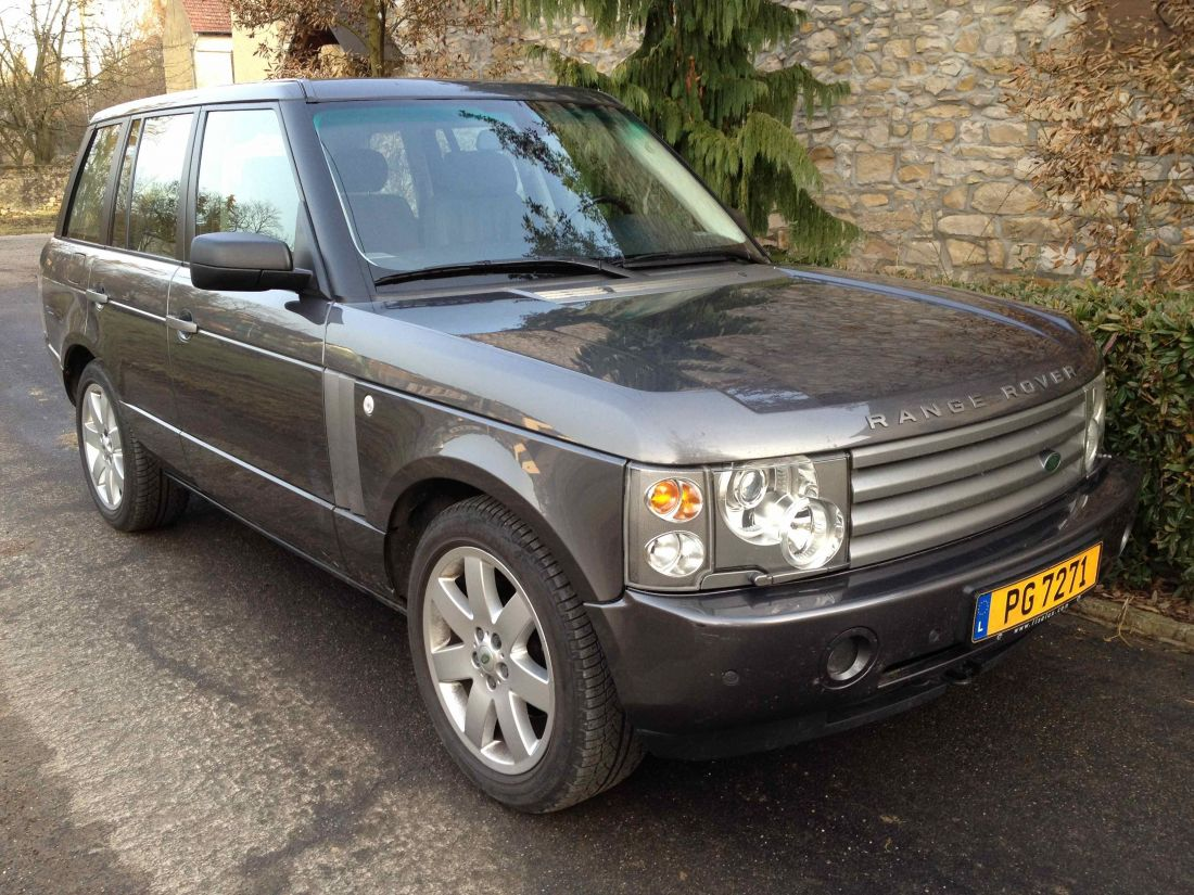 land rover range rover td6 vogue 2005 occasion luxembourg. Black Bedroom Furniture Sets. Home Design Ideas